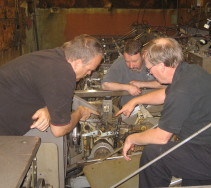 Mechanic Training on Brunswick Machines